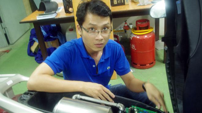 Hoài Phương giới thiệu về hệ thống điều khiển nhiên liệu gas trong xe gắn máy