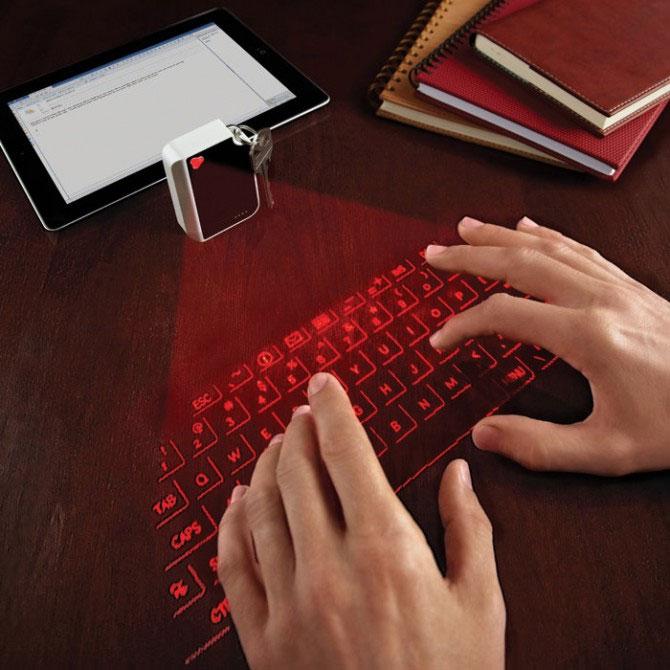 Bàn phím ảo có kích thước chỉ bằng một chiếc bật lửa Zippo