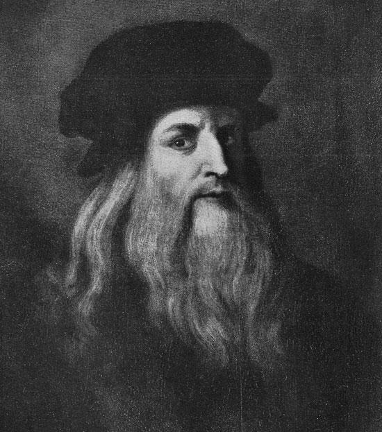 Bức tự họa Leonardo da Vinci.