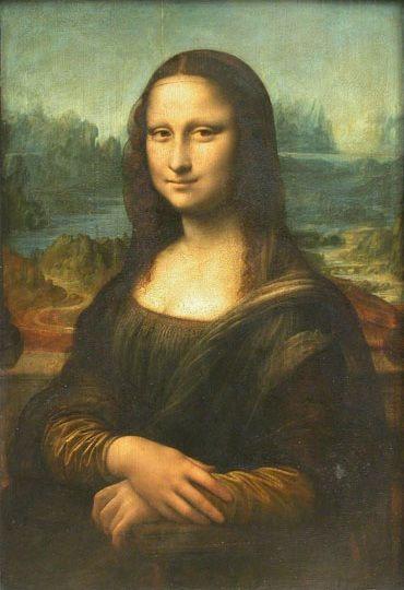 """Nàng """"Mona Lisa"""" đang lưu giữ ở bảo tàng Louvre Pháp."""