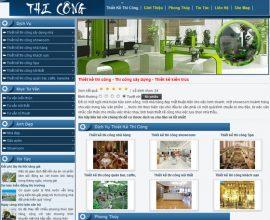 Thiết kế web thiết kế thi công