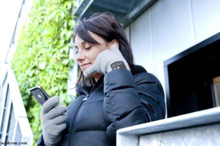 Găng tay bluetooth tích hợp tai nghe