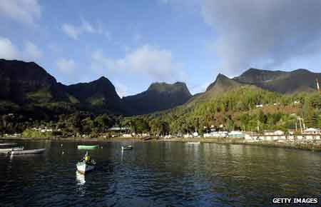 Đảo Robinson ngày nay.