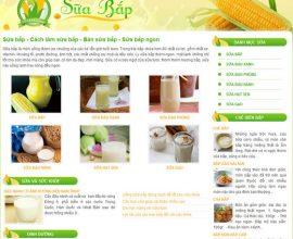 Sữa bắp - Bán sữa bắp