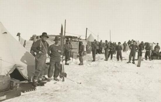 Hình ảnh chuyến thám hiểm Nam Cực của Shackleton.