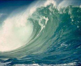 Nhóm nghiên cứu của Mỹ và New Zealand kết luận rằng họ cần hai triệu kg thuốc nổ và các vụ nổ phải diễn ra đồng loạt trên một vùng nước có chiều dài vài km để có thể tạo ra một đợt sóng có chiều cao từ 10 tới 12m trên bờ.