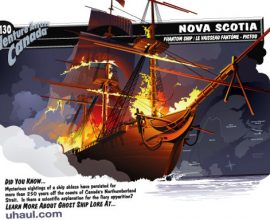 Tàu ma Northumberland Strait.