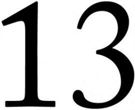 Ám ảnh số 13