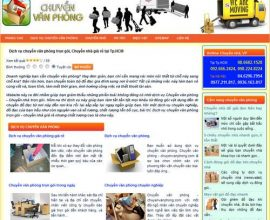 Chuyển văn phòng trọn gói - Dịch vụ chuyển văn phòng giá rẻ: Chuyenvanphong.com