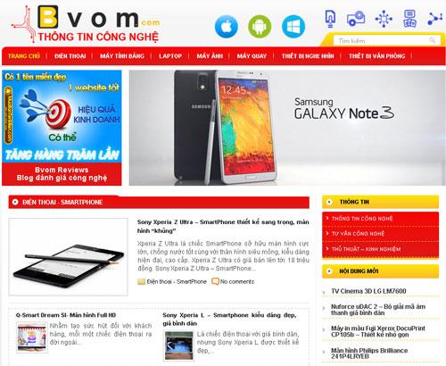website đánh giá công nghệ
