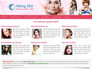 Nâng mũi thẩm mỹ Hàn Quốc