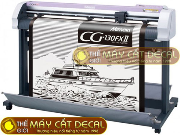Máy cắt bế tem nhãn decal Mimaki CG-130FX II