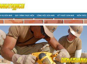 Dịch vụ sửa nhà giá rẻ nhanh - Kiến trúc xây dựng nhà ở