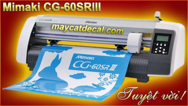Máy cắt bế decal tem xe Mimaki CG-60SRIII