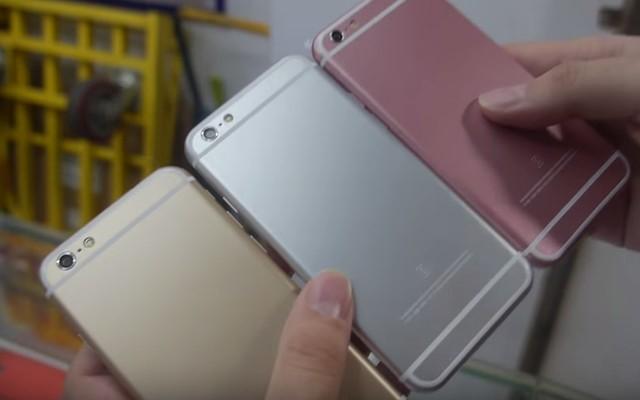Đã xuất hiện iPhone 6s nhái, có giá chưa đến 800.000 Vnđ cho phiên bản có cấu hình thấp nhất