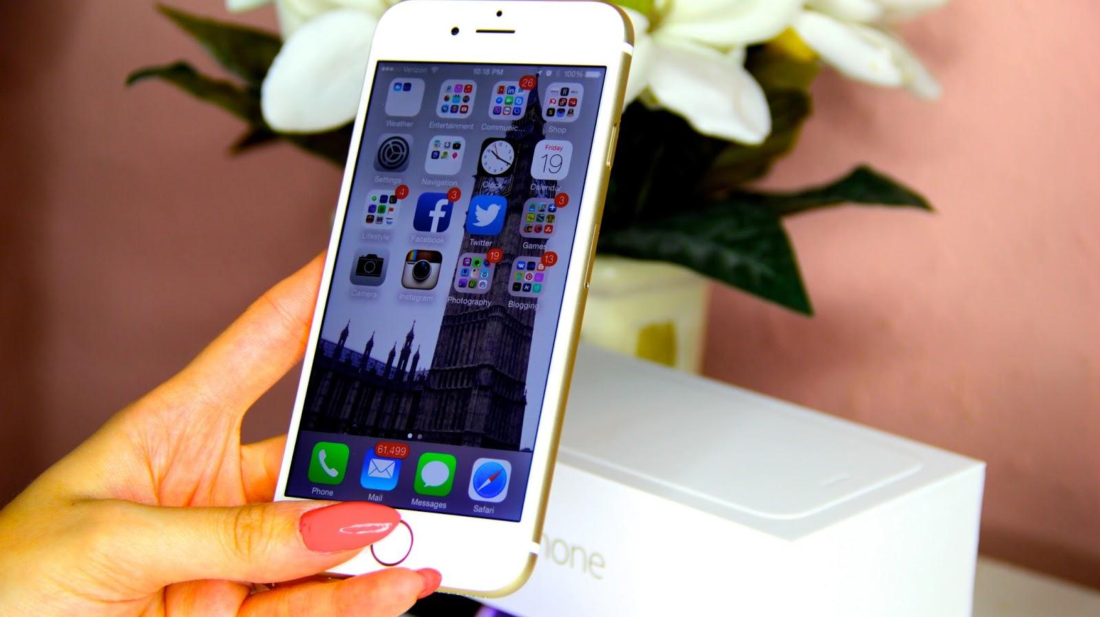 iPhone 6 màu vàng gold fullbox nguyên hộp