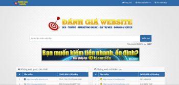 Định giá trị website - Đánh giá web