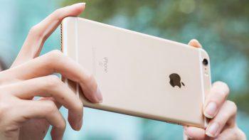 iPhone 6 plus màu vàng gold