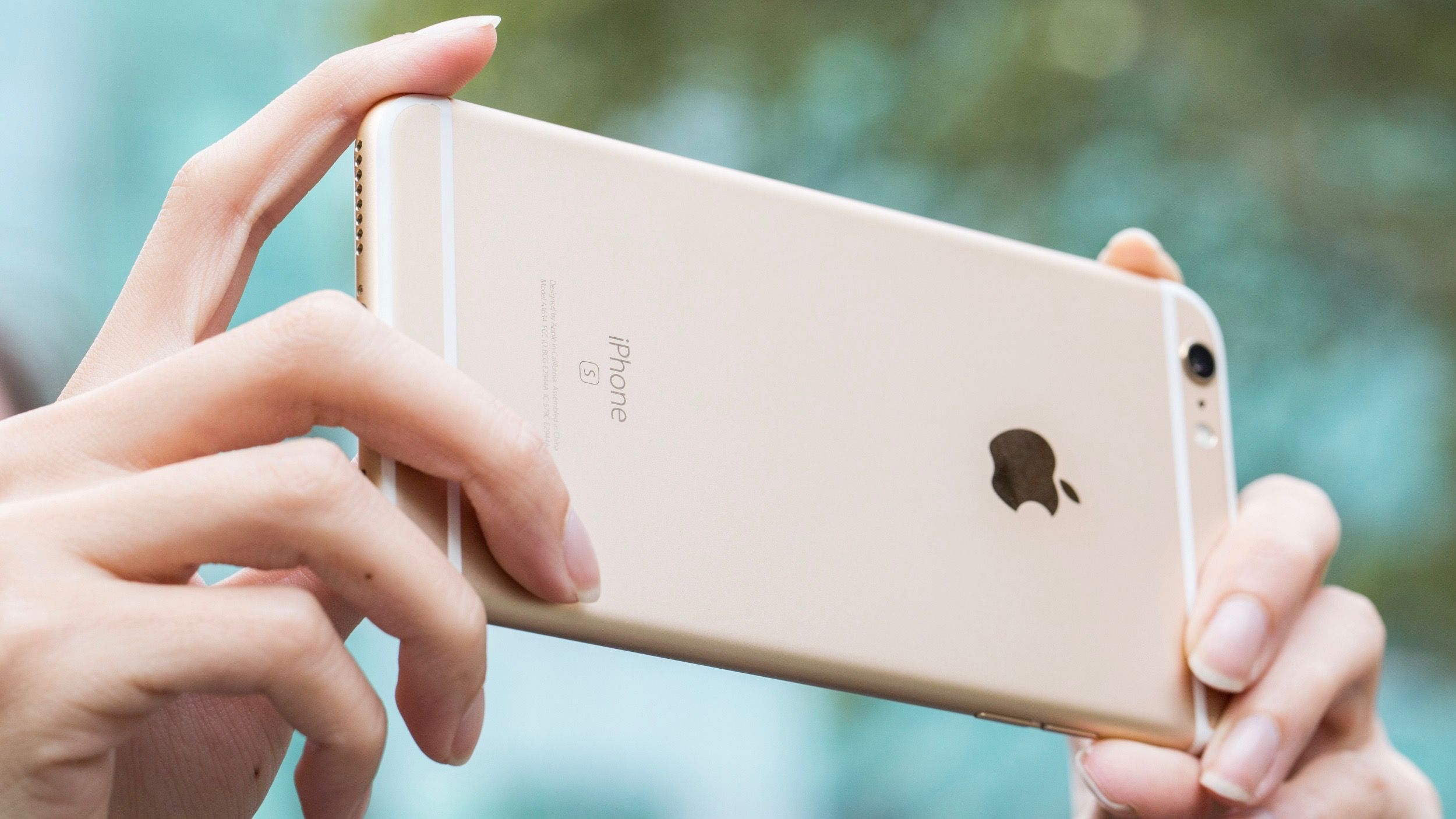 iPhone 6 plus màu vàng gold