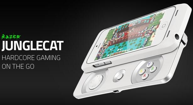 Tay cầm chơi game Junglecat của hãng Razer dành cho điện thoại iPhone 5, 5S - 1