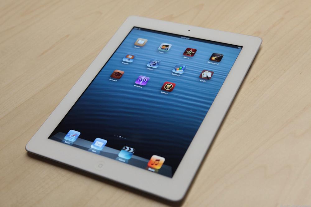 Đánh giá hiệu năng của iPad 4.