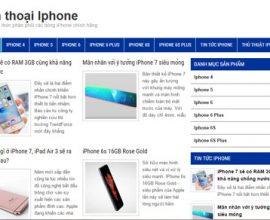 Điện thoại Iphone chính hãng, giá tốt