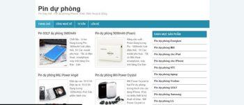 Pin dự phòng điện thoại - Mua bán pin dự phòng chính hãng