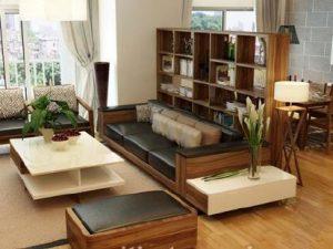 Sàn gỗ trong nội thất nhà ở