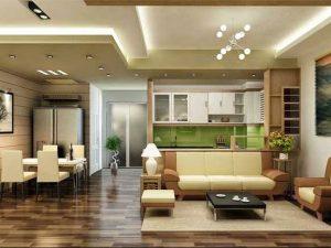 Thiết kế, trang trí nội thất nhà ở sang trọng, hiện đại