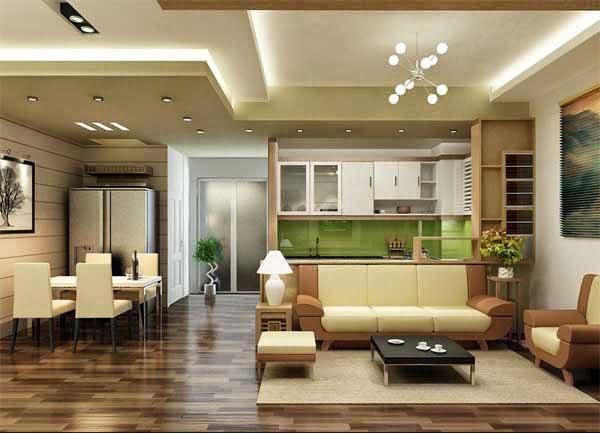 Trang trí nội thất nhà chung cư phong cách hiện đại
