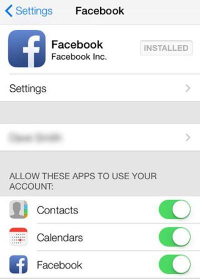 Hướng dẫn cách xóa danh bạ facebook trên iPhone cực dễ