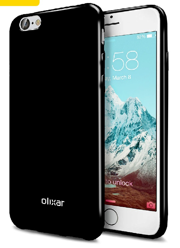 Ốp lưng cho iPhone 7/ 7 Plus với màu đen truyền thống trông rất sang trọng, lôi cuốn