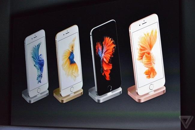 Hình ảnh ra mắt của iPhone 6 trong sự kiện giới thiệu sản phẩm thường niên của Apple