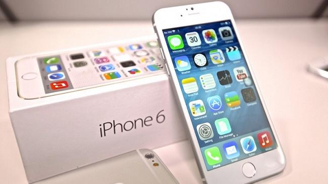 iPhone 6/6 Plus có 3 bộ nhớ trong tùy chọn là 16/64/128 GB