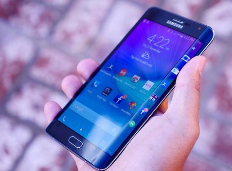 Samsung Galaxy Note 7 gây ấn tượng khi sở hữu thiết kế màn hình cong độc đáo