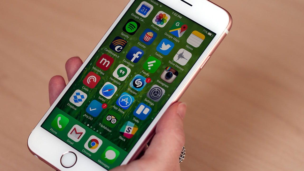 Hệ điều hành của iPhone 6s cũ có khá nhiều khác biệt.